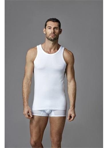 Dagi Beyaz Micro Modal Erkek Atlet Beyaz
